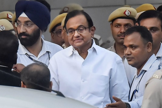 File photo of senior Congress leader and former finance minister P Chidambaram.