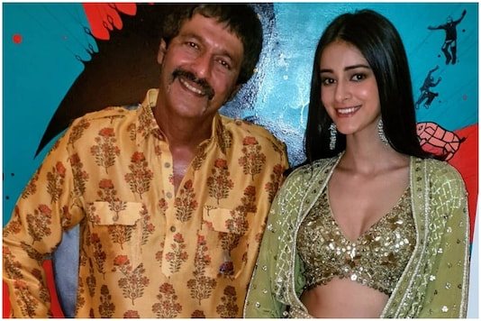 Chunky Panday with daughter Ananya