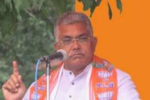 Mamata Banerjee Govt Protecting One Crore Rohingyas, Bangladeshi Muslims, Says Dilip Ghosh