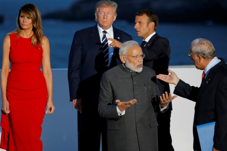 G7 Summit: Kashmir and Trade on the Table as PM Modi Holds Sidebar With Donald Trump Today