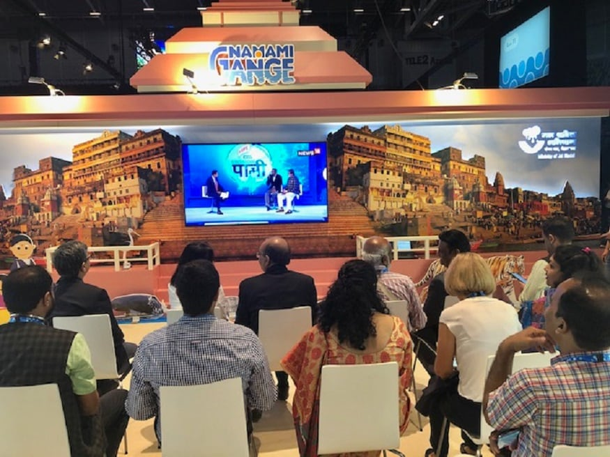 Live broadcast of Harpic-News18 Mission Paani launch event at World Water Week.