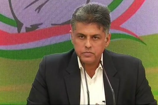 Congress national spokesperson Manish Tewari.