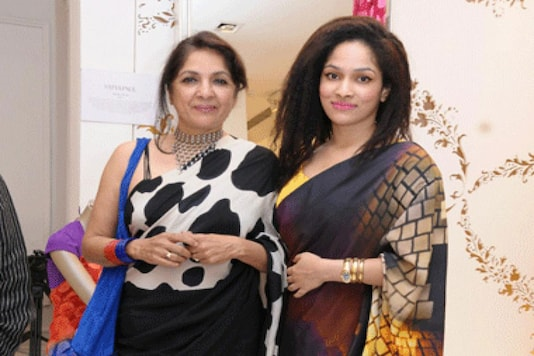 Neena and Masaba Gupta.