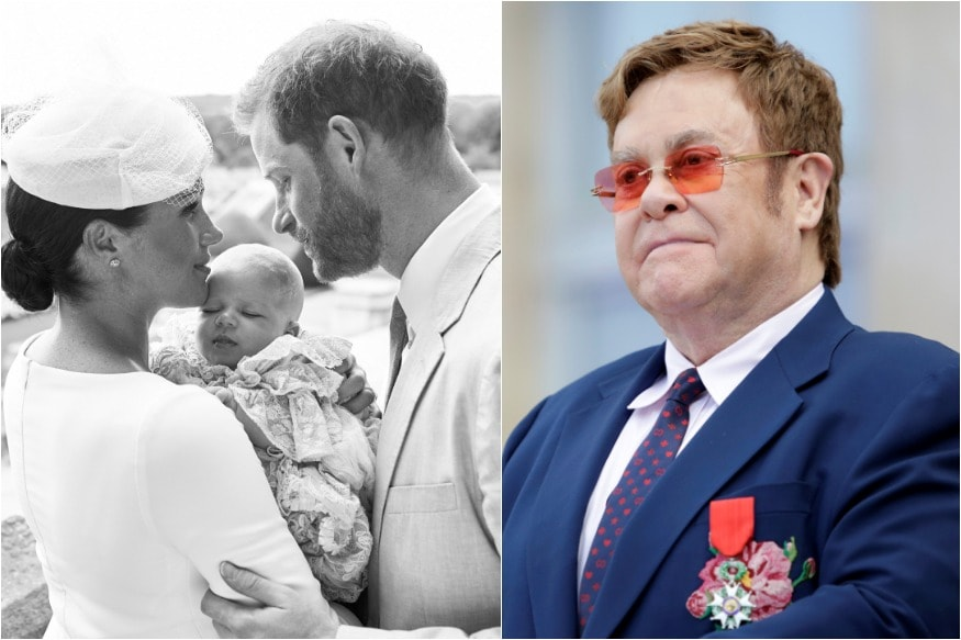 Elton John Blasts Malicious Reports of Prince Harry, Meghan Markles Private Jet