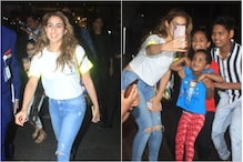Sara Ali Khan Gives Fans Yet Another Reason to Adore Her As She Clicks Selfie With Kids at Airport
