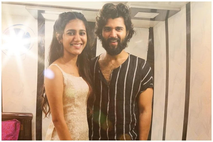 Priya Prakash Varrier Can't Keep Calm After Meeting Arjun Reddy Star Vijay Deverakonda