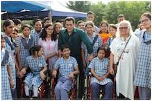 Salman Khan, Sonakshi Sinha Spend Time with Special Children on Dabangg 3 Sets in Jaipur
