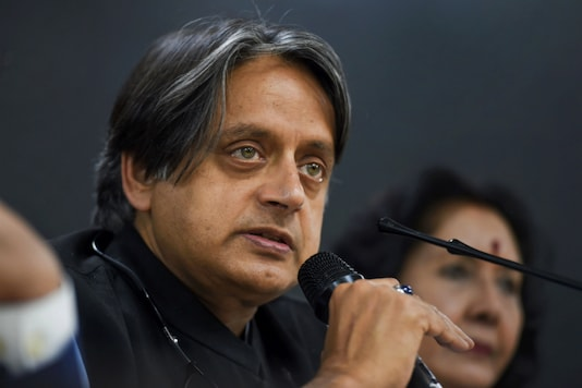 File photo of Congress leader Shashi Tharoor.  (PTI Photo)