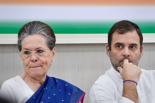 File photo of Rahul Gandhi and Sonia Gandhi. (PTI)