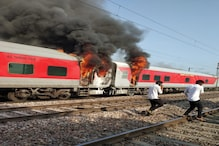 Fire Breaks Out in Telangana Express in Haryana, Passengers Safe