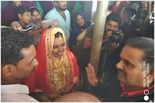 Wayanad Administration Solemnizes Wedding of Rescued Girl in Kerala Flood Relief Camp