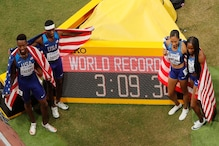 IAAF World Championships: Indian 4x400 Mixed Relay Team Finishes Seventh as US Win Gold