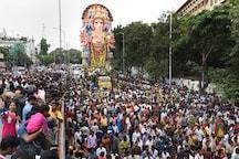 Lord Ganesha Gets Grand Send-off across Maharashtra, 10-day Mega Festival Comes to a Close