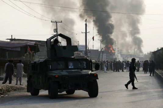 A file photo of an explosion in Afghanistan. (Reuters)