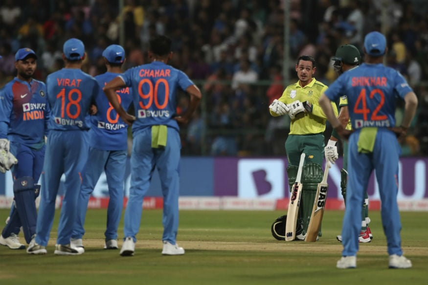 In Pics, India vs South Africa, 3rd T20I in Bangalore