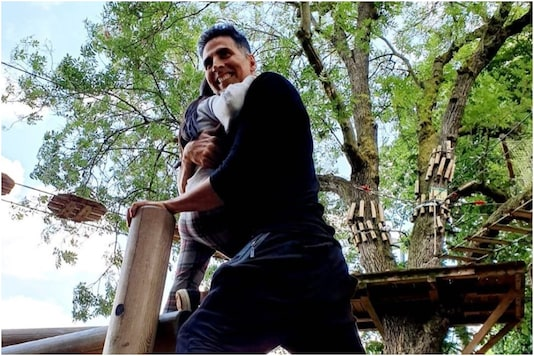 Image of Akshay Kumar, Nitara, courtesy of Instagram