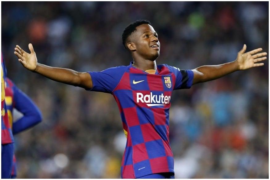 Ansu Fati to become Barca's youngest Champions League ...  |Ansu Fati