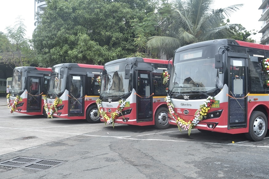 BEST Deploys 10 Olectra-BYD Made eBuzz K7 Electric Buses in Mumbai