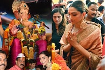 Deepika Padukone Gets Mobbed by Uncontrollable Crowd at Lalbaugcha Raja; Watch Video