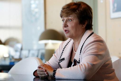A file photo of IMF chief Kristalina Georgieva.  (Reuters)
