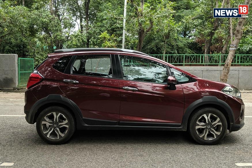 Honda WR-V side profile. (Image: Manav Sinha/ News18.com)