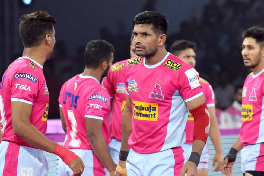 Pro Kabaddi 2019: Jaipur Pink Panthers Beat Puneri Paltan to Get 1st Win at Home