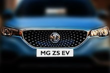 MG ZS Electric SUV Teased, Launch Likely in December