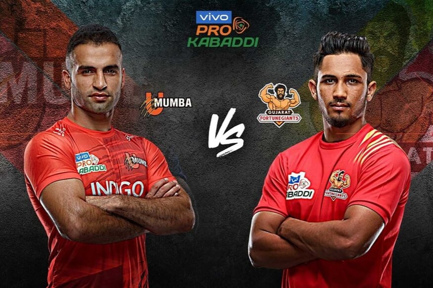 Pro Kabaddi 2019 HIGHLIGHTS, U Mumba vs Gujarat Fortunegiants in Jaipur: Mumbai Beat Gujarat 31-25