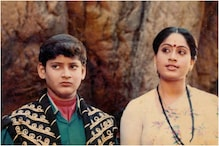 Mahesh Babu Shares Throwback Pic with Vijayashanti