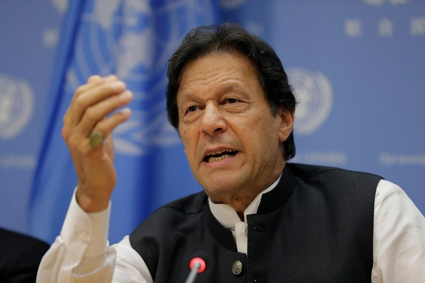 Image result for Pakistan PM Imran Admits Defeat On Kashmir Issue Before UN Speech