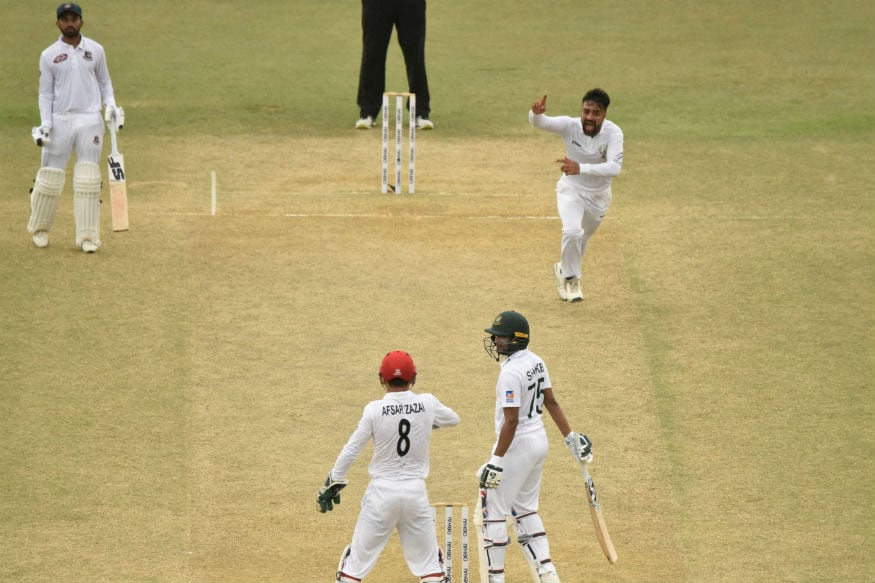 In Pics: Afghanistan Celebrate Historic Test Win Against Bangladesh