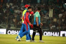 ​Rashid Khan Doubt For Tri-Series Final Against Bangladesh