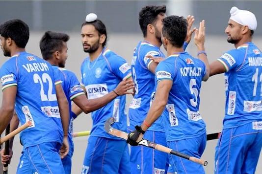 India men's hockey team (Photo Credit: Hockey India)