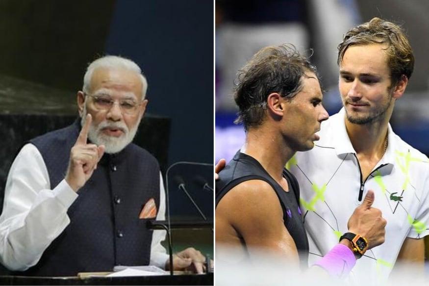 Mann Ki Baat: PM Modi Lauds US Open Runner-up Daniil Medvedev's Speech, Asks Indians to Take Lesson