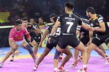 Pro Kabaddi 2019: Telugu Titans Thrash Jaipur Pink Panthers 51-31