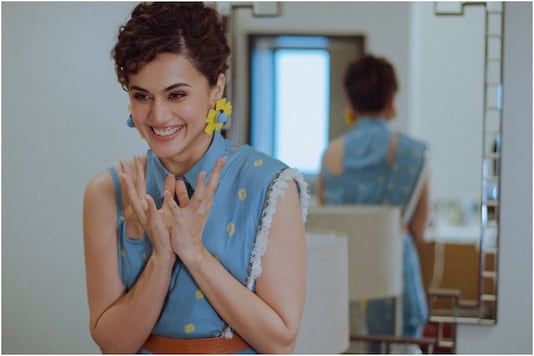Image of Taapsee Pannu, courtesy of Instagram