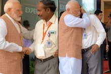 Small Step Back for Chandrayaan 2, Yet Giant Leap for India's Mission: Modi's Hug for ISRO Chief Said it All
