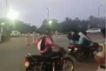 Old Video of Bikers Without Helmets Walking their Bikes Goes Viral After New Traffic Rules
