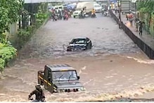 Watch: Bolero Whizzes Past Jaguar in Flooded Mumbai Street, Sparks Comparisons