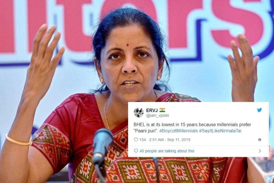 BHEL Down, Millennials Prefer Paani Puri