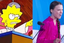Did 'The Simpsons' Predict Greta Thunberg's Speech and Clash with Donald Trump?
