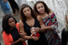 Rio Family Buries 8-year-old Girl Killed by Stray Bullet Amid Allegations That She was Hit by Police