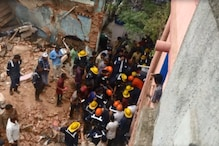 Two Dead, Several Feared Trapped after Three-storey Century-old House Collapses in Ahmedabad