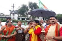 Dhol, Manjira & 'Alarm' Bells: BJP's Novel Protest Props to Awaken MP Govt from 'Deep Slumber'