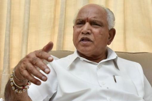 File photo of Karnataka CM BS Yediyurappa.