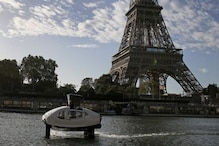 Police Pull over 'Flying Taxi' for Speeding on River in Paris