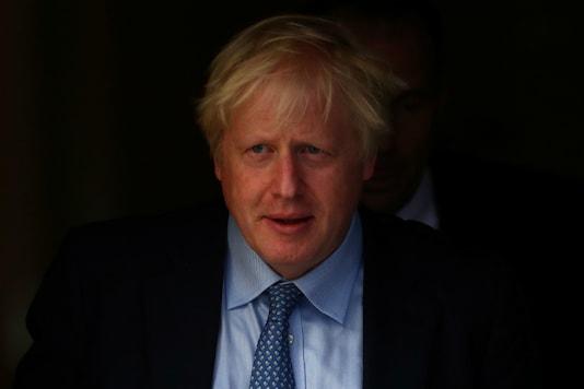 A file photo of British Prime Minister Boris Johnson.