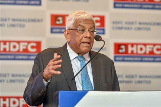 File photo of Deepak Parekh. (Twitter/ @CNBCTV18Live)