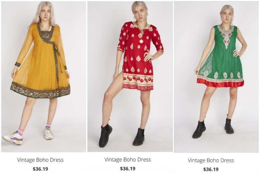 UK Clothing Brand Trolled for Trying to Sell Indian-Style Kurta as 'Vintage Boho Dress'