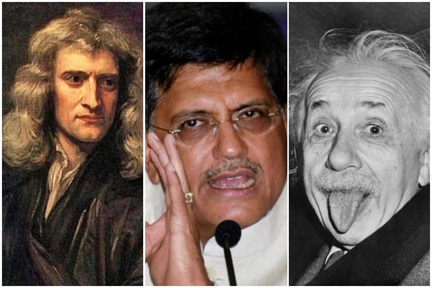 Piyush Goyal says he 'made a mistake' on Einstein and gravity